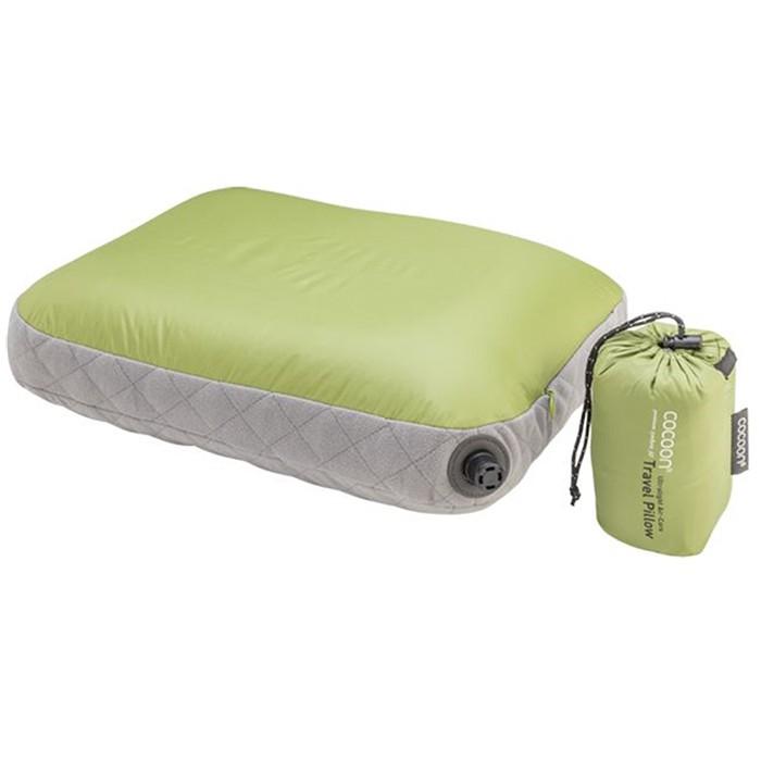 【COCOON奧地利戶外配件 】超細纖維輕量充氣枕頭靠墊 -綠