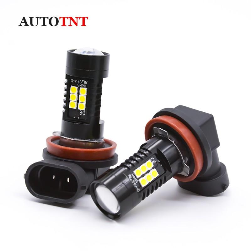 【AUTOTNT】汽車LED霧燈 H8 LED H11 LED HB3 HB4 9005 9006 汽車霧燈燈泡魚眼霧燈
