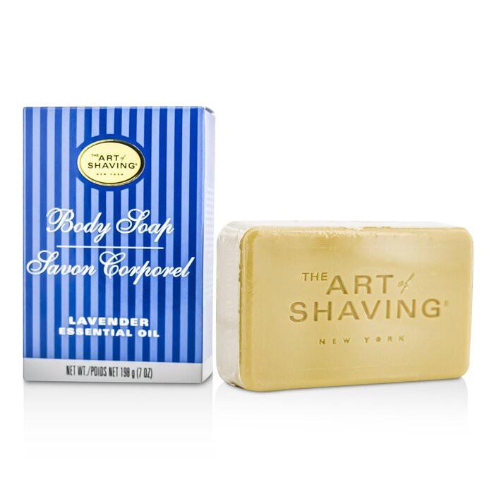 刮鬍學問 - 身體沐浴皂-薰衣草精油