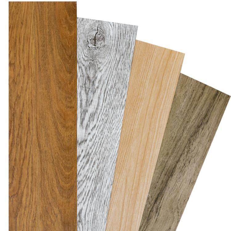 地貼 PVC加厚防水耐磨石塑地膠塑膠地板貼地板磚自黏 【鄰家丫頭】