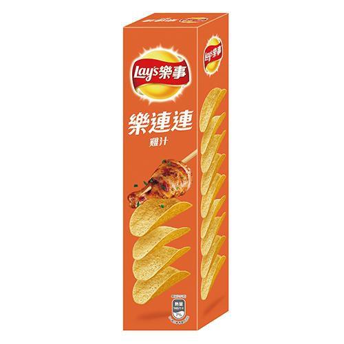 LAY'S樂事分享包洋芋片-雞汁108g【愛買】