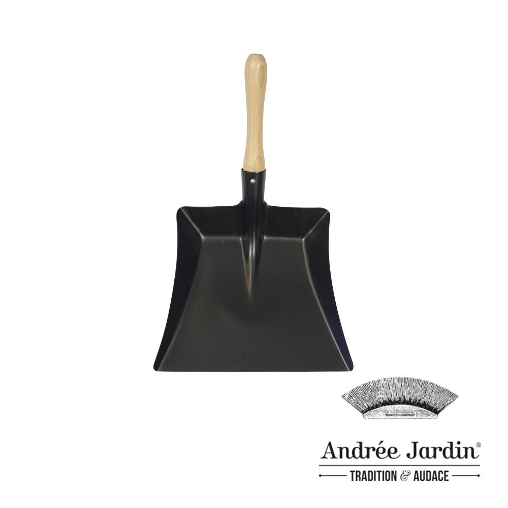 【法國Andrée Jardin】 櫸木烤漆畚箕 黑