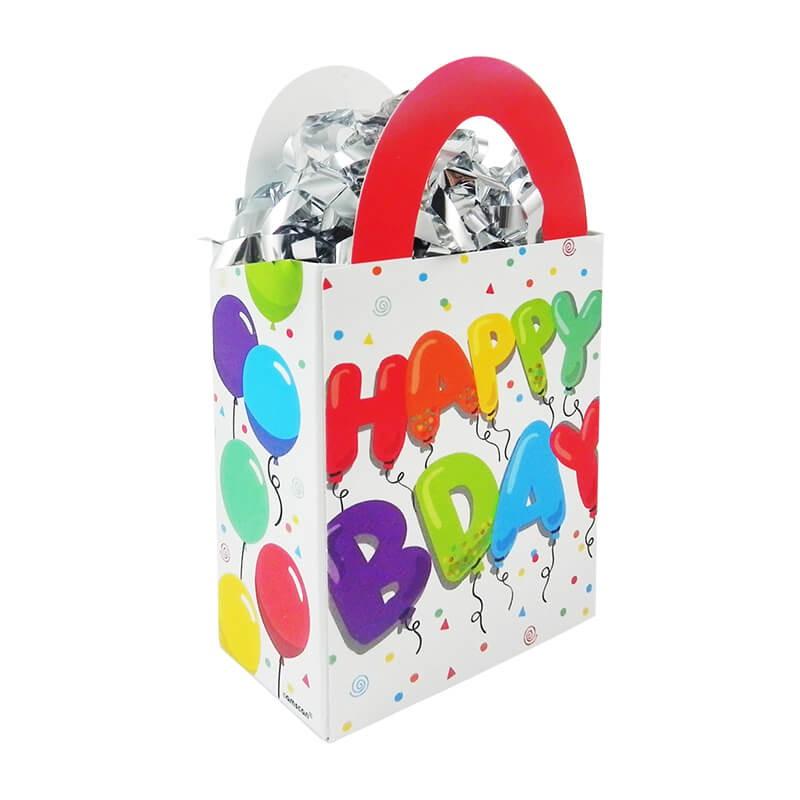 派對城 現貨 【禮物袋氣球座-生日氣球】 歐美派對 氣球周邊 氣球裝飾 氣球底座 派對佈置 拍攝道具