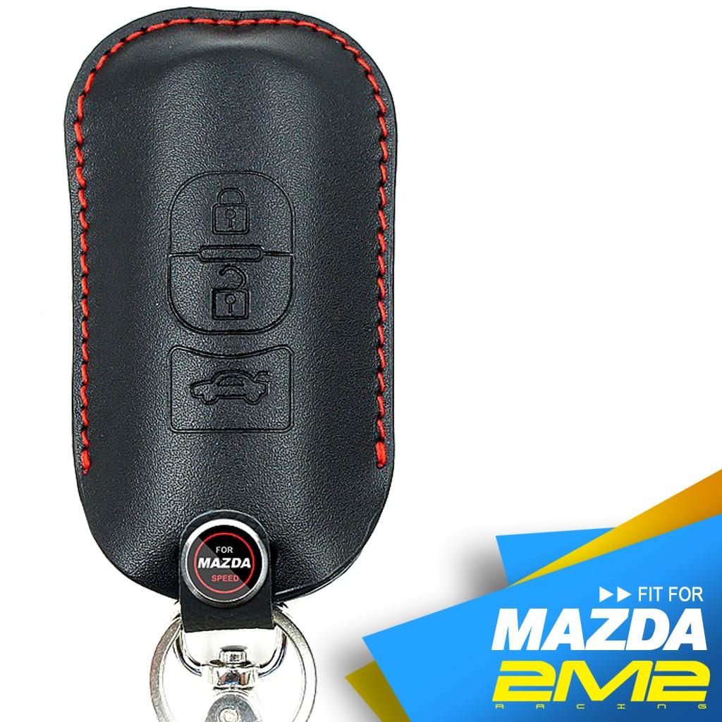 【2M2鑰匙皮套】MAZDA3 MAZDA6 CX3 CX5 CX7 CX9 馬自達汽車 智慧型鑰匙 鑰匙 皮套 鑰匙包