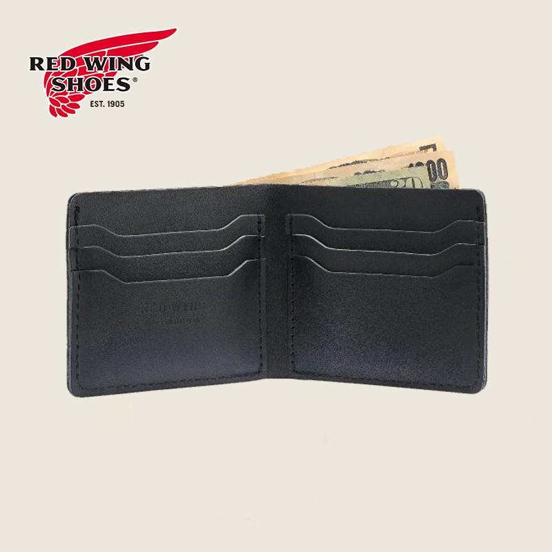 Red Wing Heritage BI-FOLD WALLET  95018美式經典男士皮夾- 黑