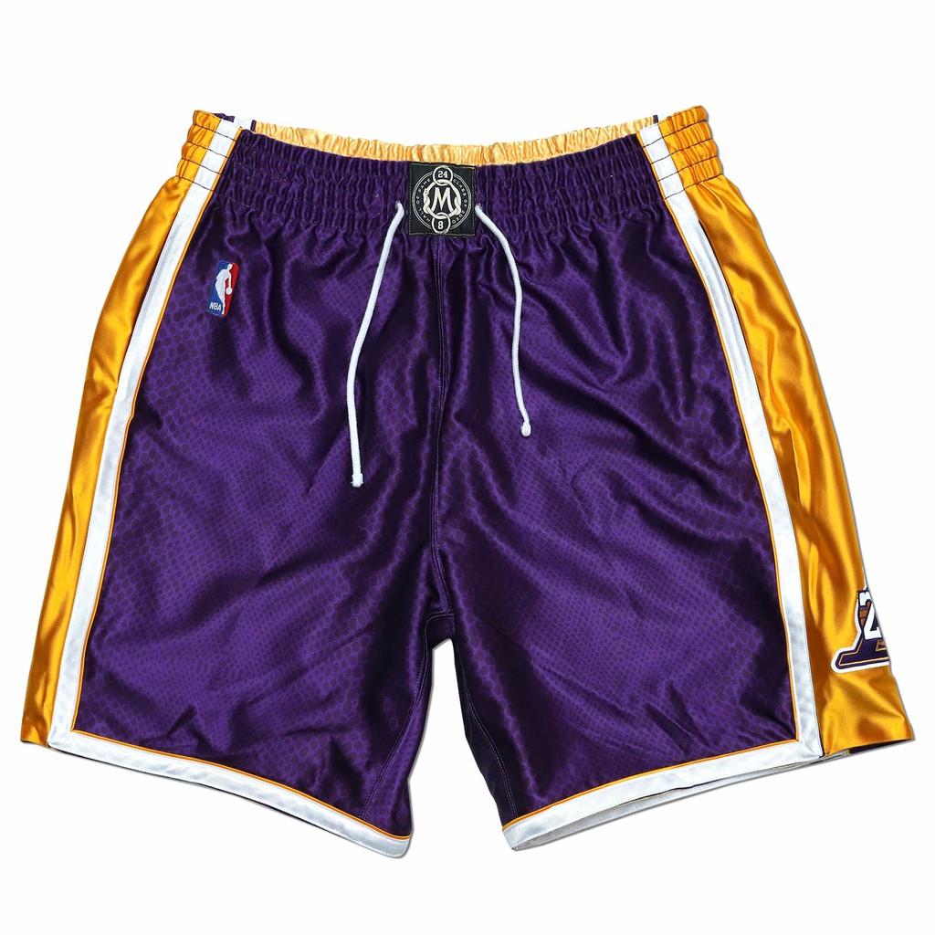 NBA 最高等級雙面球褲 HOF 96-16 Road 湖人