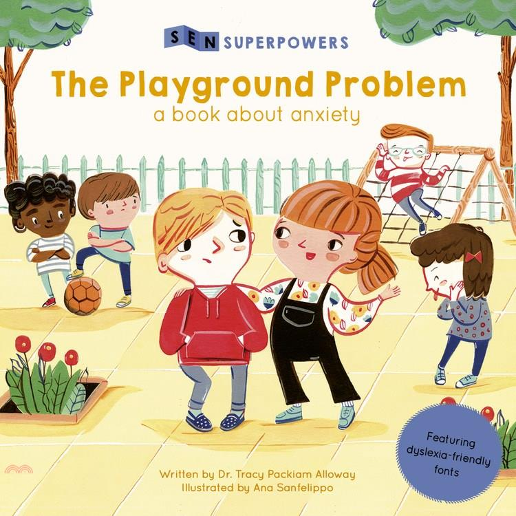 The Playground Problem ― A Book About Anxiety【三民網路書店】[79折]