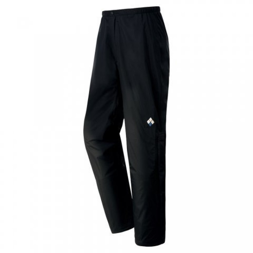 montbell日本 Rain Hiker Pants 防水透氣風雨褲M 黑 1128602BKM
