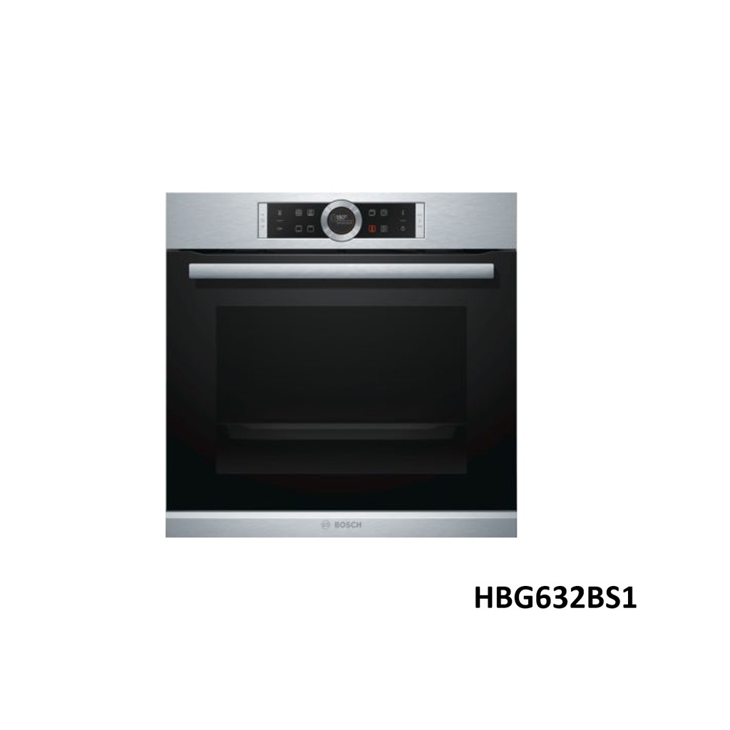 【直營經銷商】BOSCH 博世 HBG632BS1 60公分 嵌入式 烤箱--得意家電