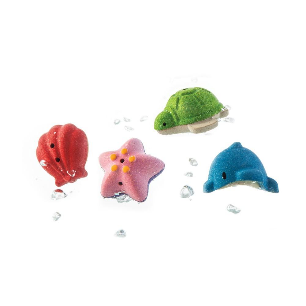 泰國 PLAN TOYS - 海底動物4件組