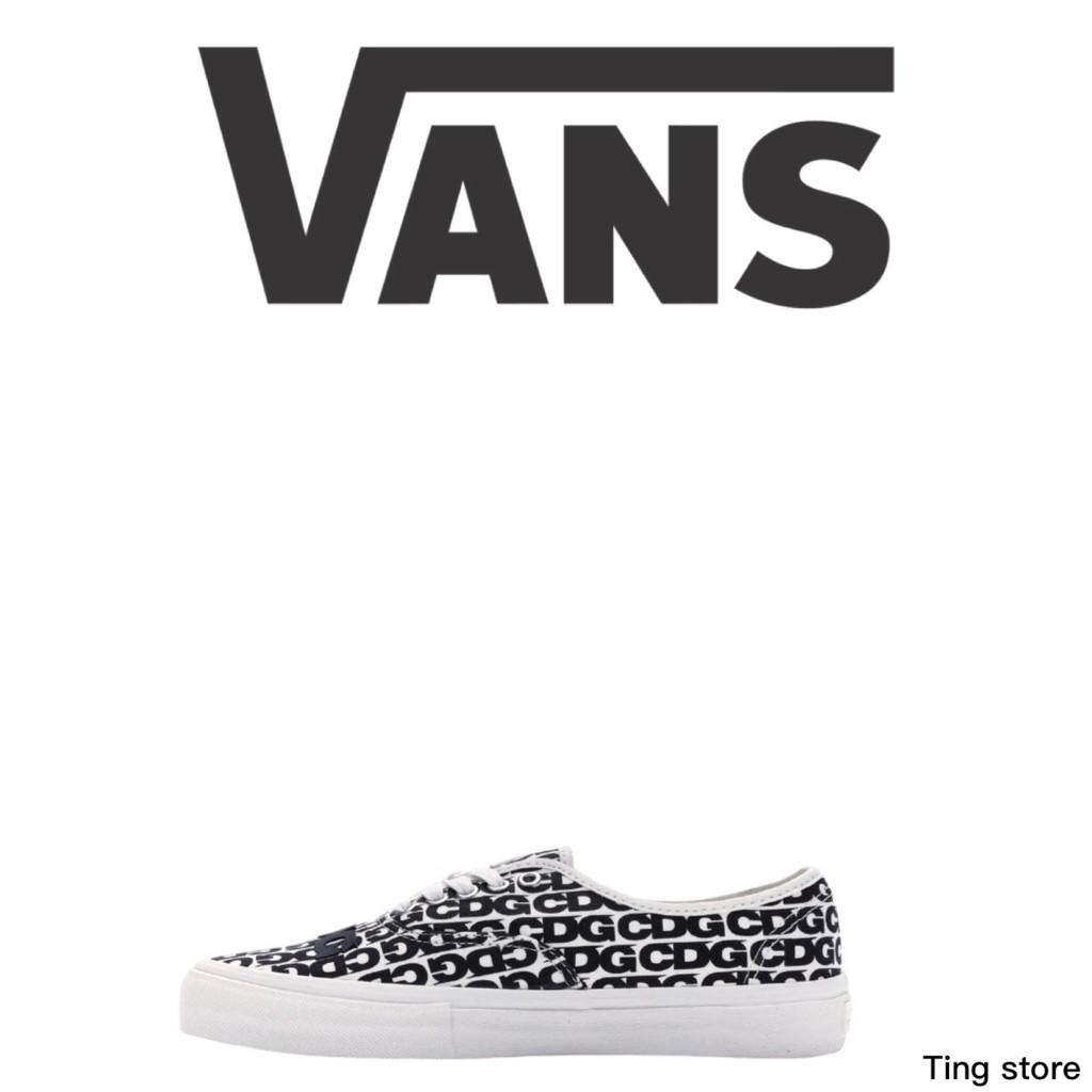 Vans x CDG帆布鞋【Ting Store】