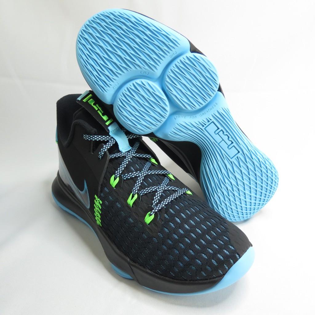 NIKE LEBRON WITNESS V EP 男款 籃球鞋 大尺碼 CQ9381004 黑x藍【iSport愛運動】