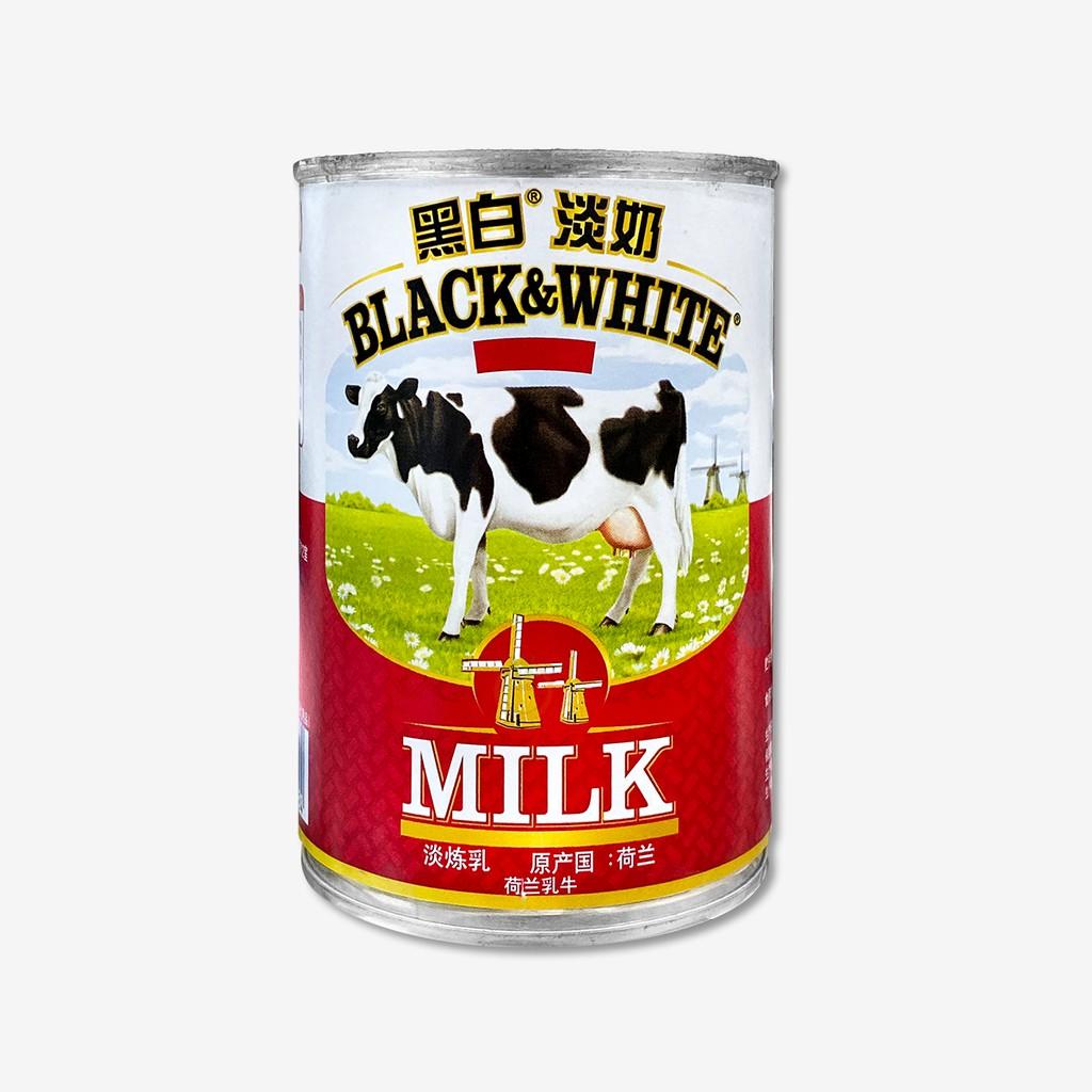 黑白全脂淡奶 (淡煉乳) 376ml  / 罐