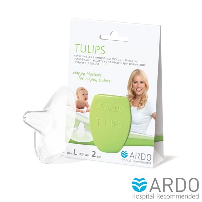 【ARDO安朵】瑞士 鬱金香 乳頭 防護 保護罩 -L號