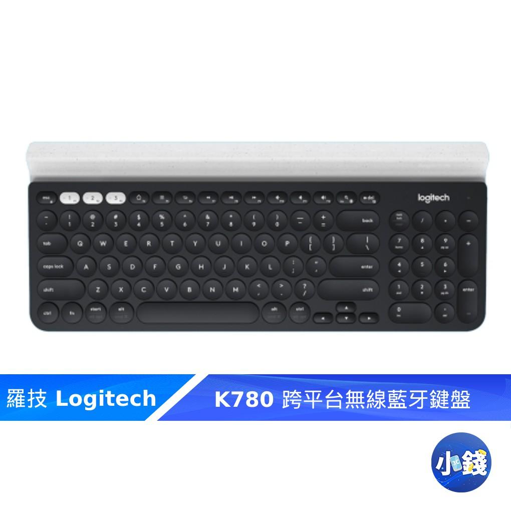羅技 K780 跨平台無線藍牙鍵盤 無線藍牙鍵盤 無線鍵盤 藍芽鍵盤 unifying 黑色【小錢3C】