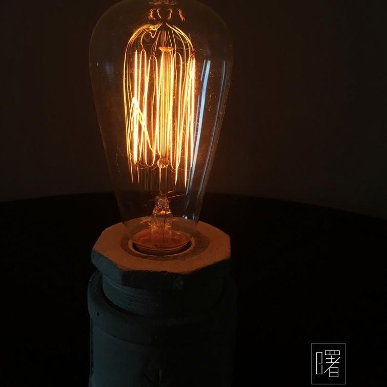【曙】鎢絲燈泡 愛迪生燈泡 T64 E27 復古 loft 工業風 咖啡廳 民宿 餐廳