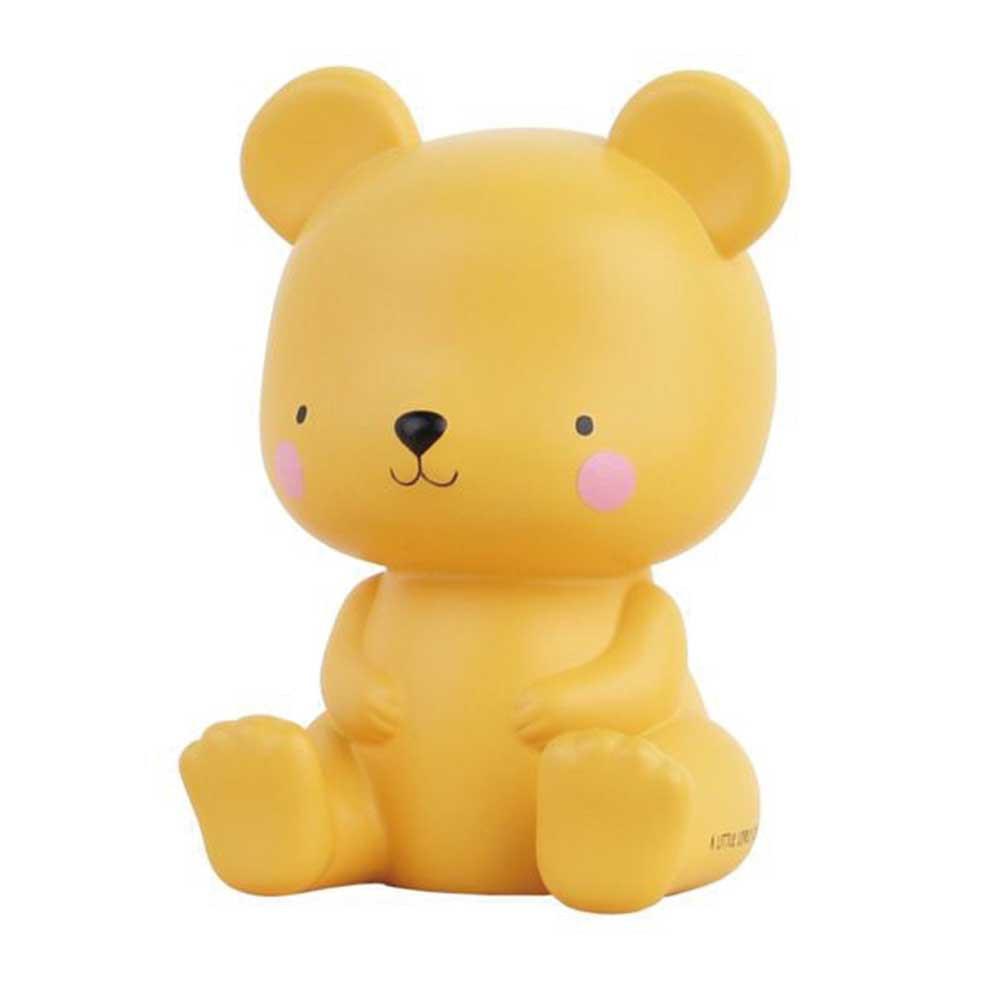 荷蘭 A little lovely company 療癒小夜燈 - 焦糖小熊