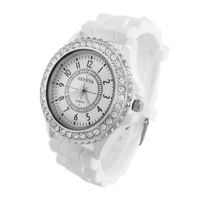 繽紛上市 日內瓦時裝女錶 果凍矽膠錶 手錶 鑲鑽錶 石英手錶腕錶 手表女表 仕女表~賣貴請告知