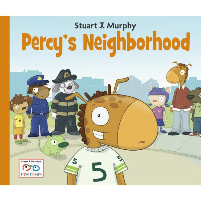 Percy's Neighborhood  跟著波西認識社區 (平裝)