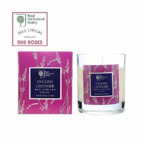 《齊洛瓦鄉村風雜貨》英國Wax Lyrical RHS香氛系列 香氛玻璃罐蠟燭 香氛蠟燭 薰衣草繡球花 紫羅蘭 金銀花