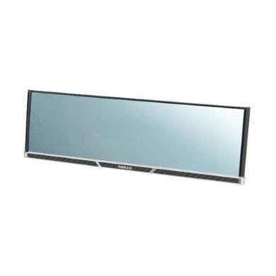 CARMATE碳纖紋框 3000R緩曲面藍鏡 後視鏡車內後照鏡270mm DZ264