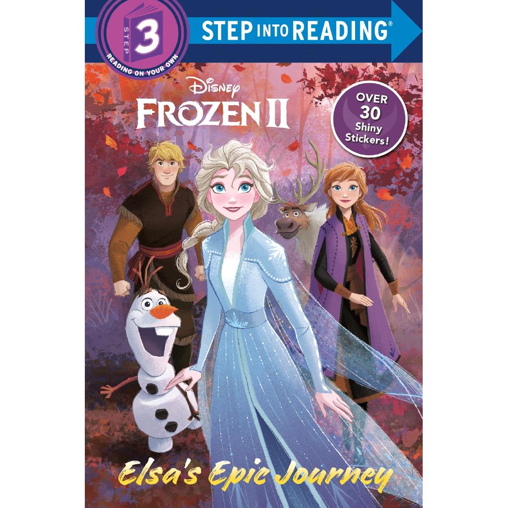Frozen 2: Elsa's Epic Journey (Level 3)【三民網路書店】[9折]