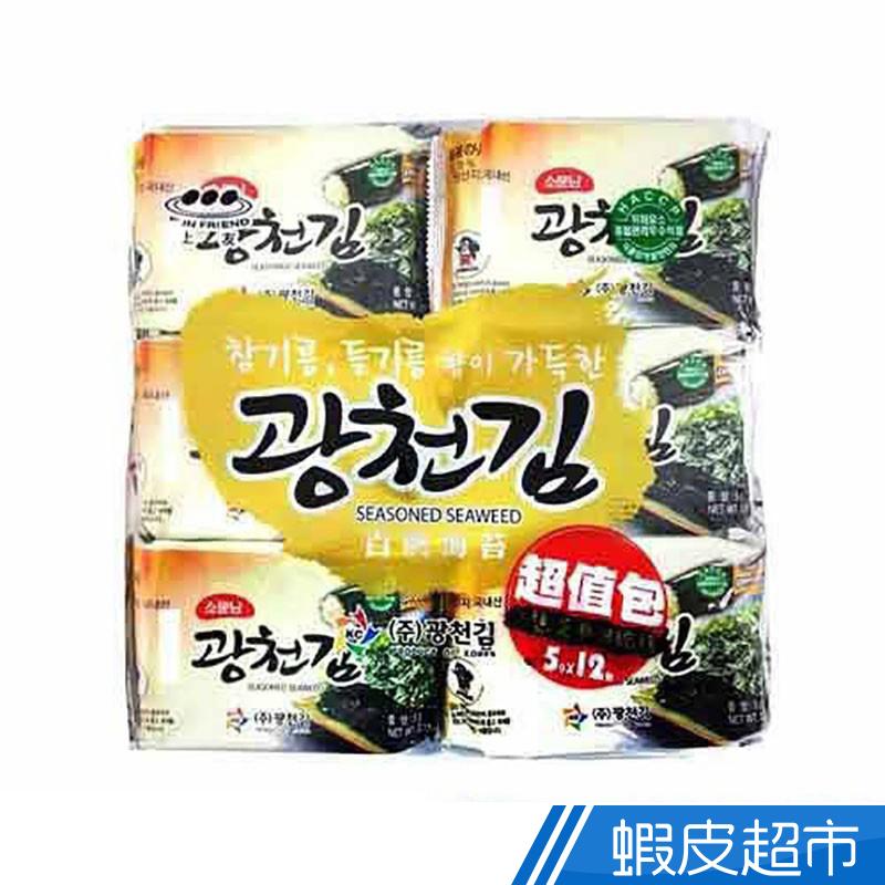 韓國 上友 百濟海苔12入  現貨 蝦皮直送