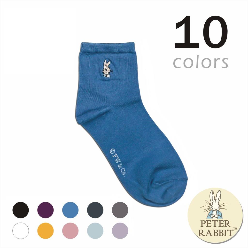 比得兔 精繡少女短襪 -SK8788 (共10色)
