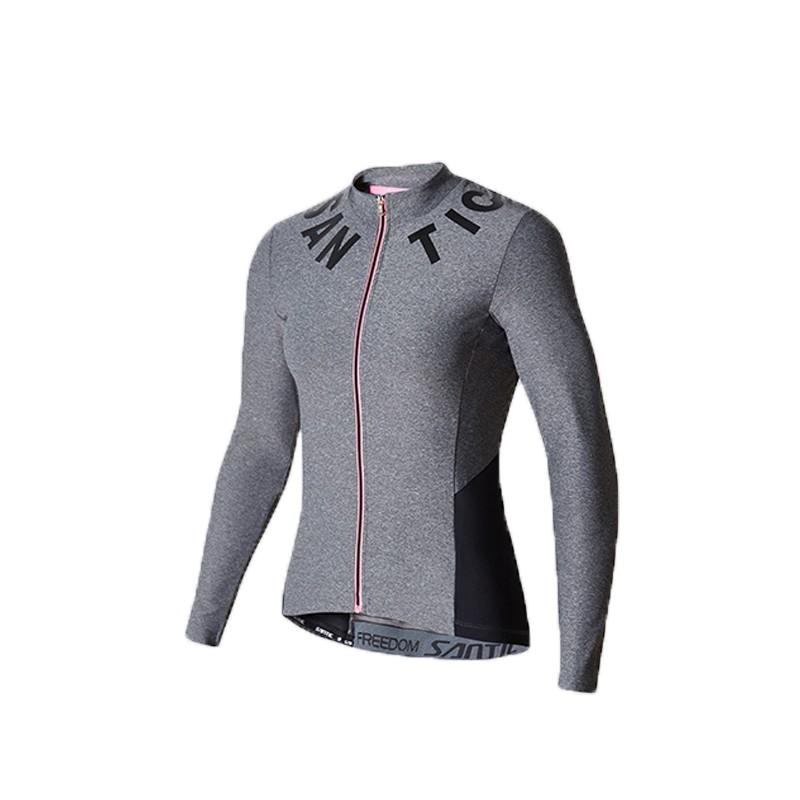 SANTIC L7C01078 女款長袖車衣 透氣舒適 科技秋冬版(蘇帕)