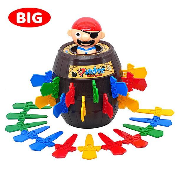 桌遊玩具 益智遊戲 極度彈力海盜桶 668【酷比樂】