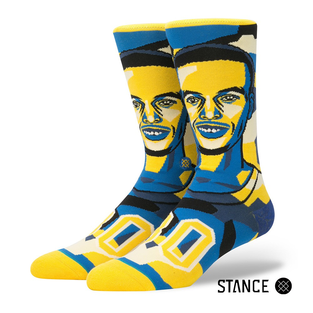 STANCE MOSAIC CURRY 男襪 休閒襪 NBA聯名設計襪款