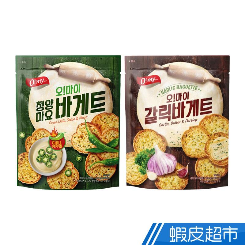 韓國 歐邁福 法式麵包餅乾 香蒜奶油/青陽辣椒美乃滋口味 300g 現貨 蝦皮直送 (部分即期)