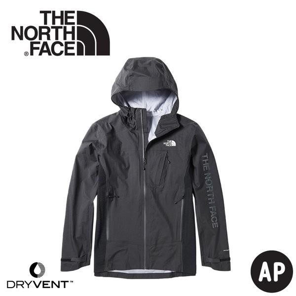 【The North Face 男 DryVent+GORE-TEX拼接防水外套《黑》】3VSN/衝鋒衣/防水/悠遊山水