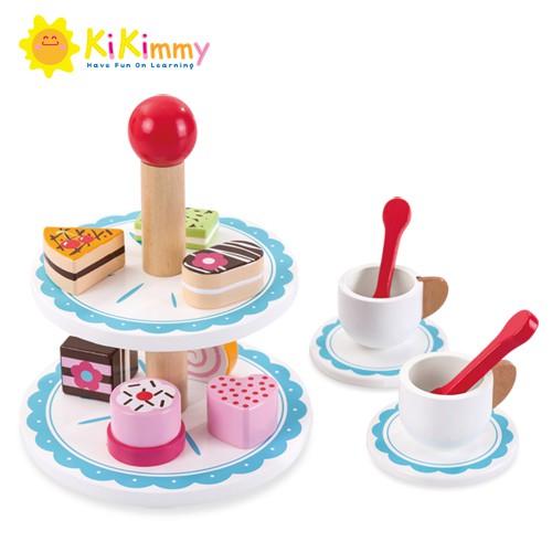 Kikimmy 法式下午茶木製玩具組K369 (廠商直送)
