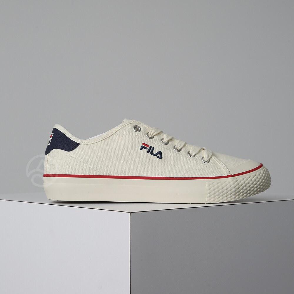 FILA Classic Kicks B 系列 帆布鞋 米白 韓國限定款 FS1SIA1031X_WWT