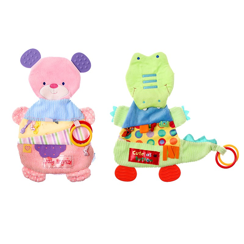 歐美感覺統合布質顏色觸覺玩具【90099-K】貝比幸福小舖