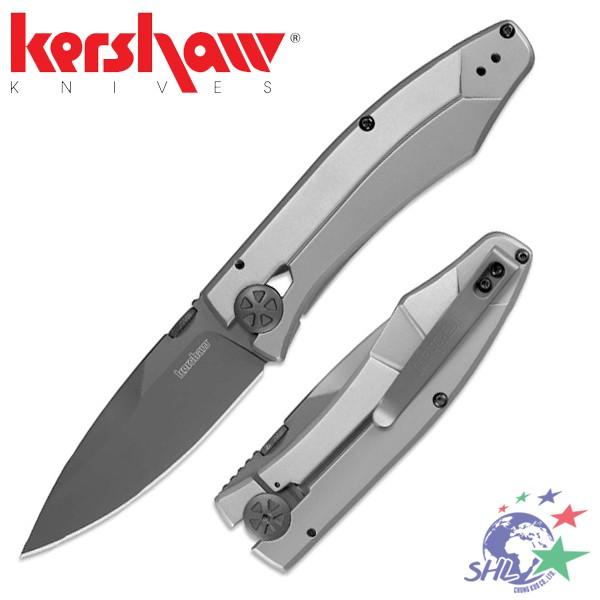 kershaw Innuendo 折刀 / 8Cr13MoV 不鏽鋼 / 不鏽鋼握柄 / 3440【詮國】