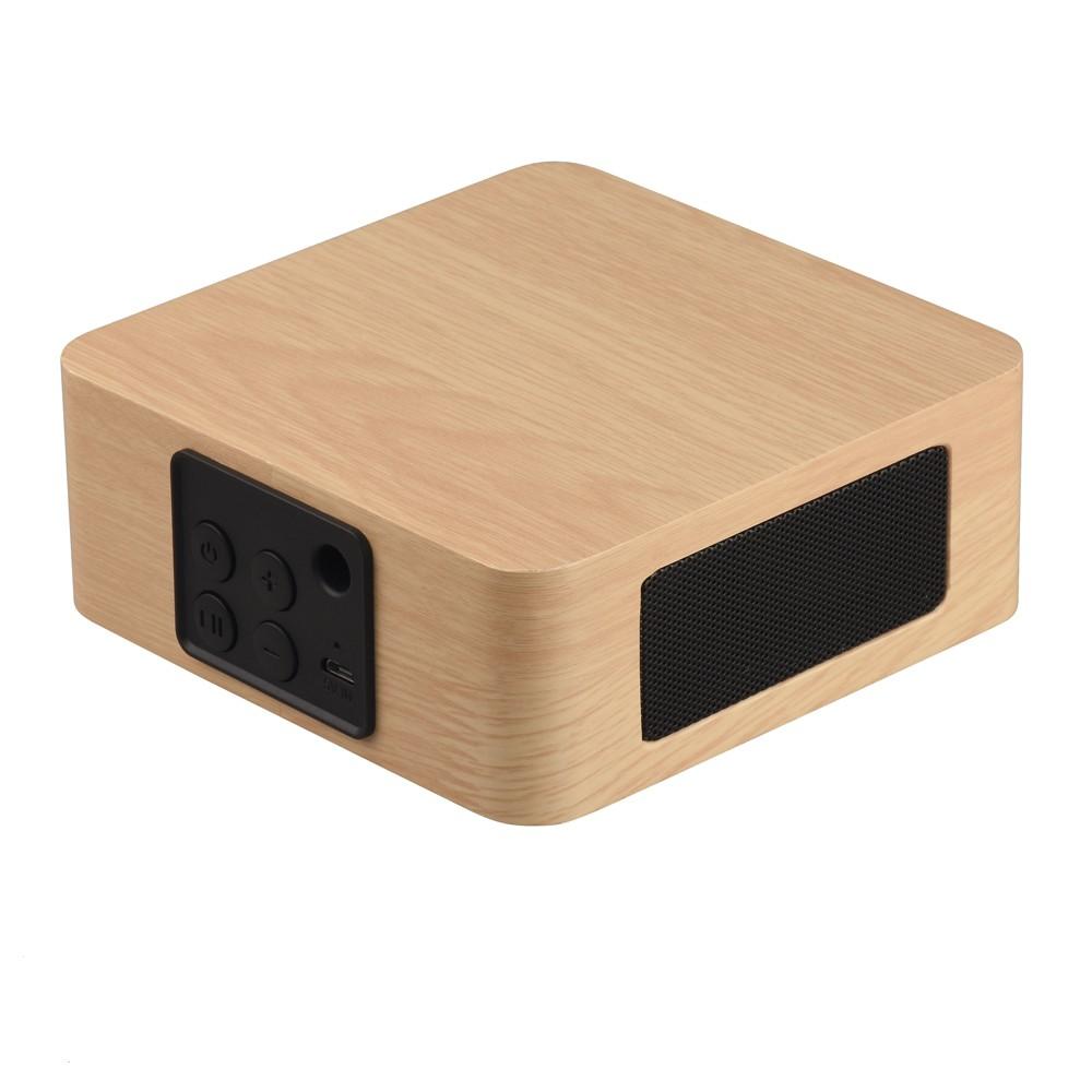 【YOUNGFLY】Cube藍芽喇叭 木質方盒 輕盈不占空間,小巧可愛