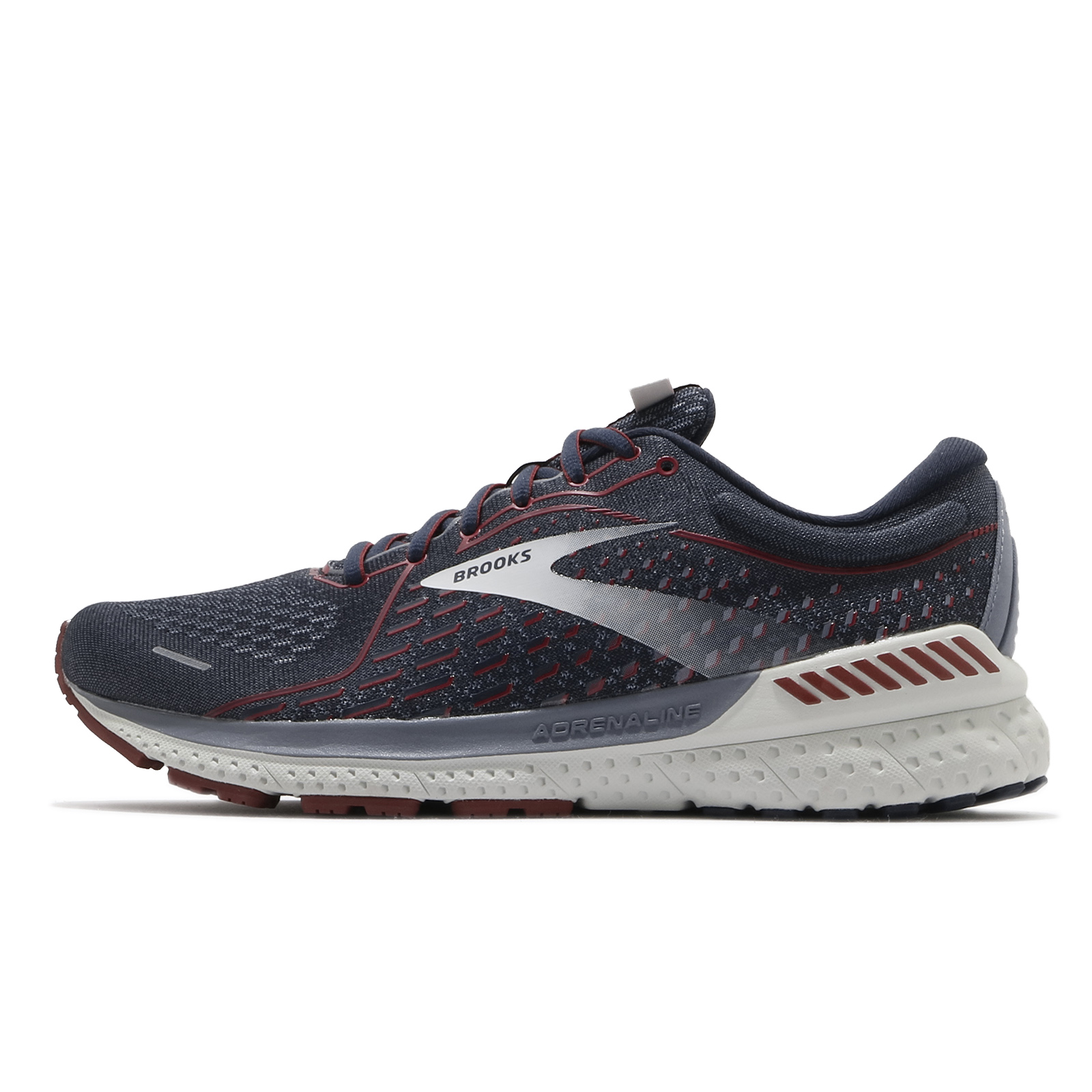 BROOKS 慢跑鞋 Adrenaline GTS 21 男 支撐型 灰 運動鞋 【ACS】 1103491D420