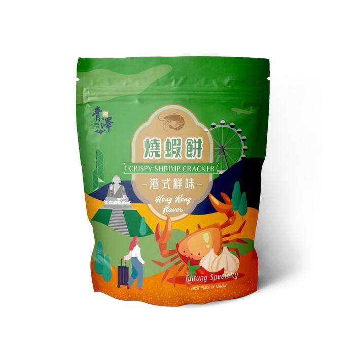 燒蝦餅100g(港式鮮味口味)【超取限購12包】