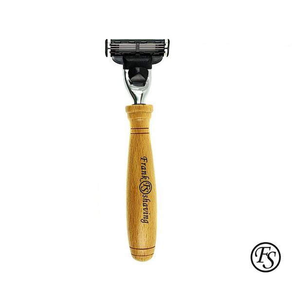 GOODFORIT / Frank Shaving Beechwood Mach3 Razor 山櫸木素材刮鬍刀