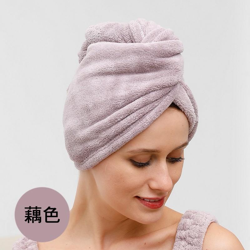 超強吸水 柔軟 擦頭巾 包頭巾 乾髮帽 吸水帽 長尾帽【現貨】