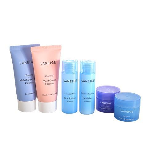 LANEIGE 蘭芝 洗面乳/晚安面膜/酷肌因保濕醒肌露/導入液 買二送一 產品責任險