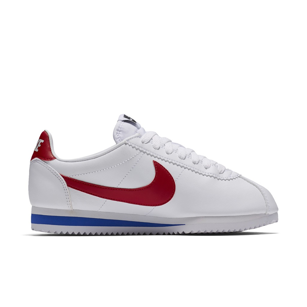 NIKE 女 W CLASSIC CORTEZ WHITE RED 白紅藍【A-KAY0】【807471-103】