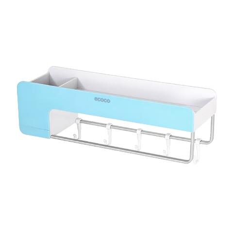 [即刻寄] 衛生間置物架免打孔浴室洗手間壁挂式洗漱臺水風繫厠所收納架子【KAU004】