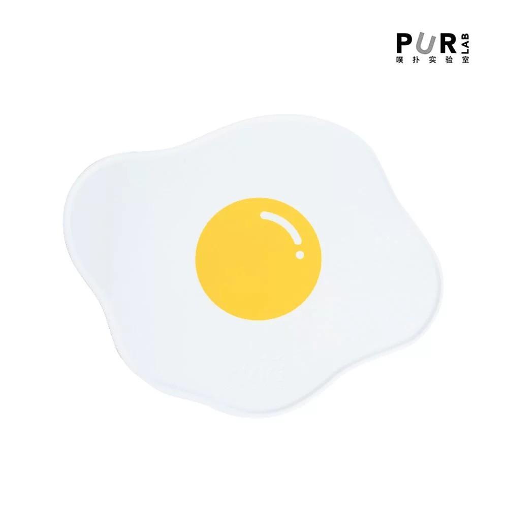 PurLab 荷包蛋餐墊 寵物餐墊 貓餐墊 防潮餐墊 造型餐墊 荷包蛋造型 矽膠餐墊 防溢矽膠餐墊