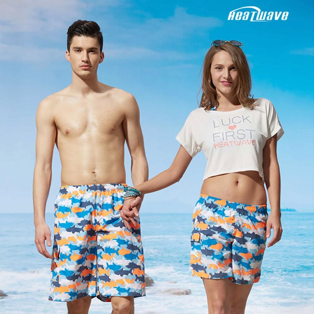 Heatwave熱浪 女款海灘褲 活力海洋鯊 C50 沙灘褲女