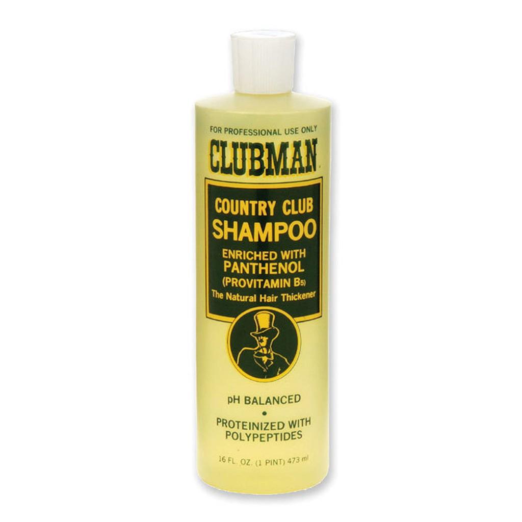 Clubman - 專業沙龍洗髮精(控油去油保濕、深層柔順護髮、頭皮調理)男士男性男生洗髮乳香水洗髮露香氛洗髮水 男