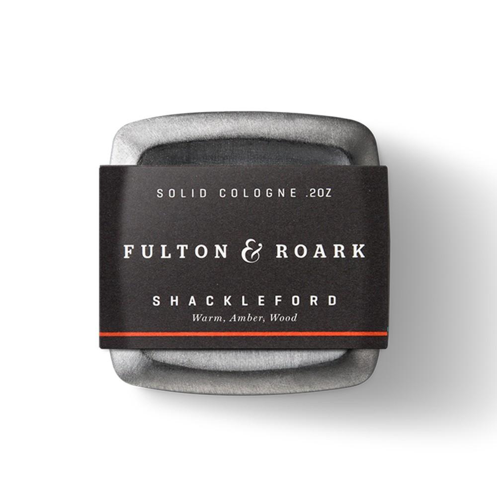 Fulton & Roark - 固體香水(俠客列弗 Shackleford)固態古龍水香膏 體香膏香水膏香氛膏男性男士