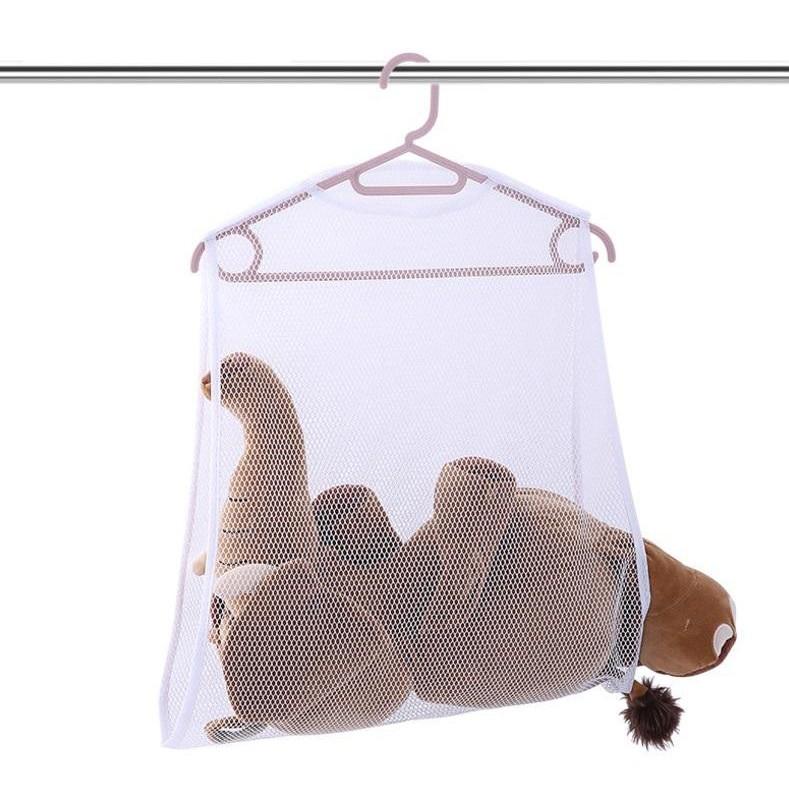 枕頭晾曬網SG529 陽台防風枕頭晾曬網玩具晾曬架 掛式晾衣架曬衣架BOY